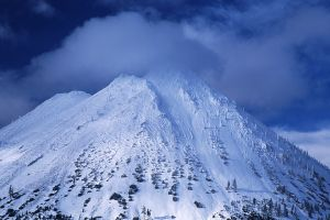 Black Butte in Winter