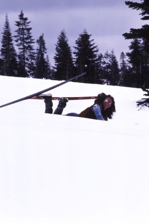 The Joys of Skiing, Mount Shasta, California