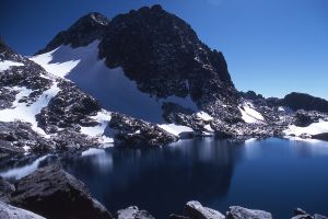 Lake Catherine and Mount Ritter, Sierra Nevada, California