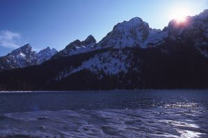 Jenny Lake and Tetons, Grand Teton National Park