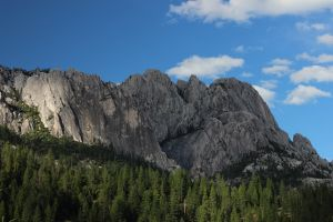 South Face, Castle Crags, California