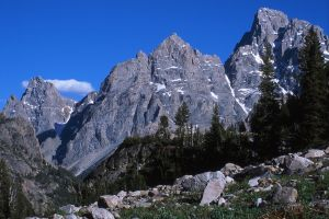 West Face, Grand Tetons, Grand Teton National Park