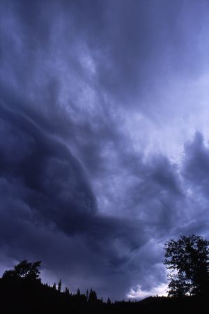Storm Clouds, near Redding, California