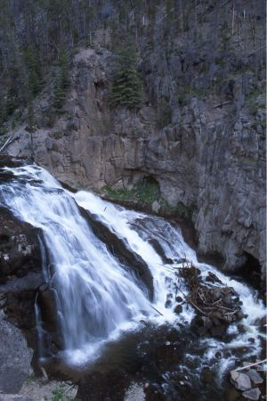 Gibbon Falls, Yellowstone National Park