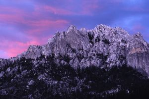 Castle Crags Sunset