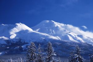 Mount Shasta in Winter